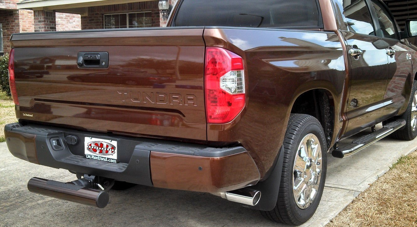 STOP TAILGATERS AND TEXTING DRIVERS ON CONTACT! Crash Attenuator - Sparebumper Receiver Hitch Step